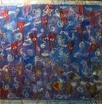 2100. Acrylic on Canvas. September 11, 2001.