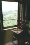 Tuscan window. Photograph. 2005