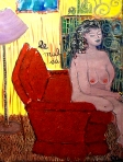 Mal Du Vivre. Oil on Particle board. 2000