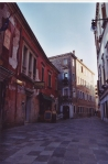 Piazza as Outdoor Living Room, Venice. Photograph. 2003