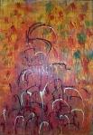 Untitled II. Acrylic on canvas.1999