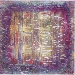 Untitled III- Acrylic on Canvas.1999
