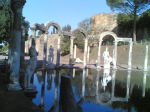 Palace of Hadrian, Tivoli. Photograph. 2007