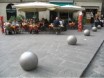 At a Cafe', Siena. Photograph. 2007