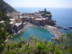 View, Cinqueterre, Italy. Photograph. 2007