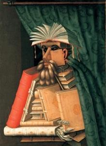 Giuseppe Arcimboldo- The Librarian (Wolfgang Lazius)