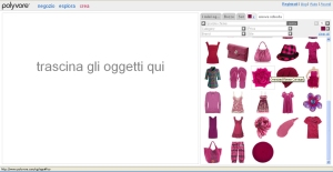 Polyvore  - Dashboard