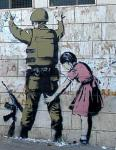 Banksy. West Bank barrier, Bethlehem. 2007