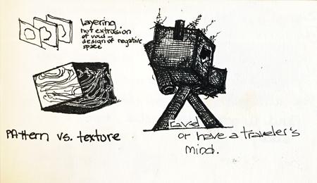 Ink on Paper. December 2010.