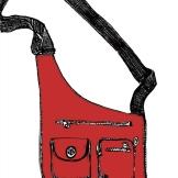 Baggalini Red.