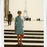 Sketchbloom's mom, Paris, 1967.