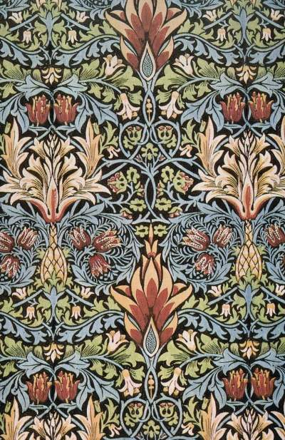 William Morris. Textile Design.