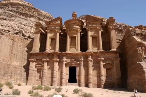 El Deir. Petra. Jordan.