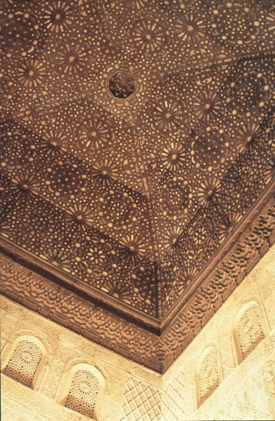 Alhambra: Hall of the Ambassadors.1370. Granada, Spain.