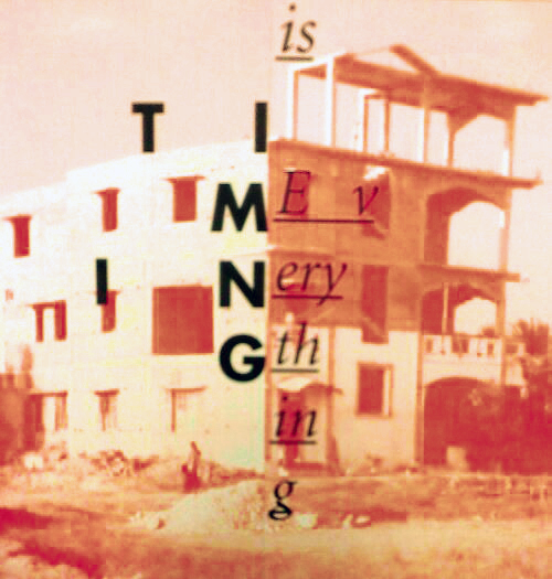 Timing Is Everything Exhibit Poster- digitally modified.