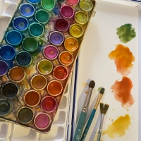 A (hard) Summer of Art  {What I Know Now }
